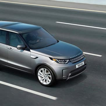2019 Land Rover Discovery on the road