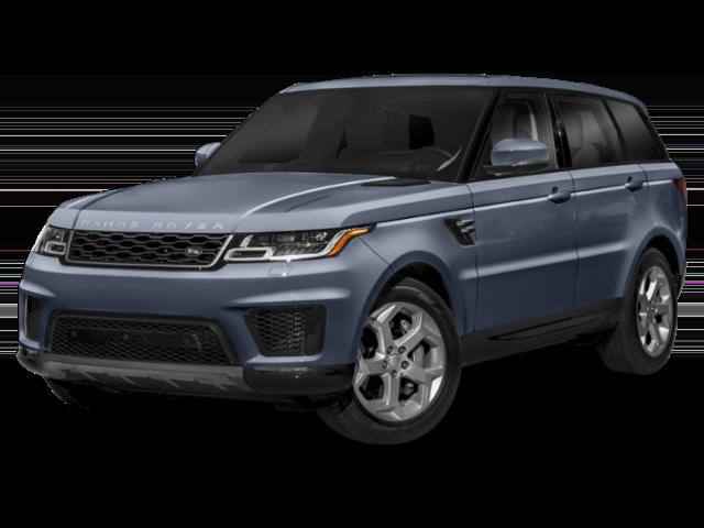 2019 Range Rover Sport light blue