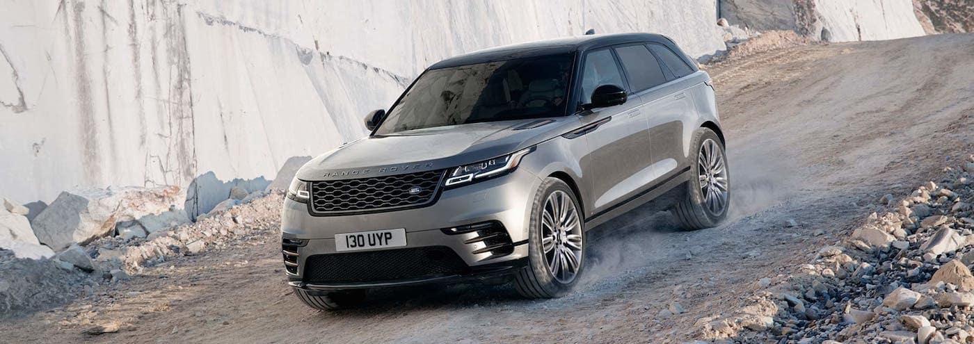2019 Range Rover Velar heading downhill