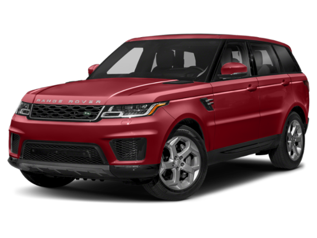 2019 Range Rover Sport in red