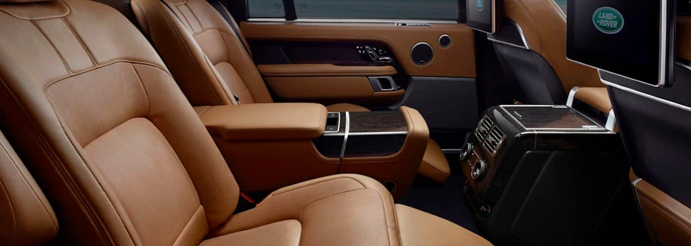 2019 Range Rover rear leather seats