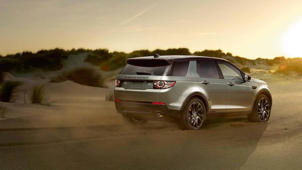 2019 Land Rover Discovery Sport off roading