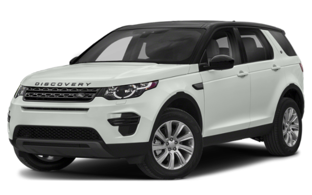 2019 Land Rover Discovery Sport in white