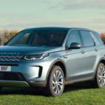 2020 Discovery Sport towing flatbed trailer
