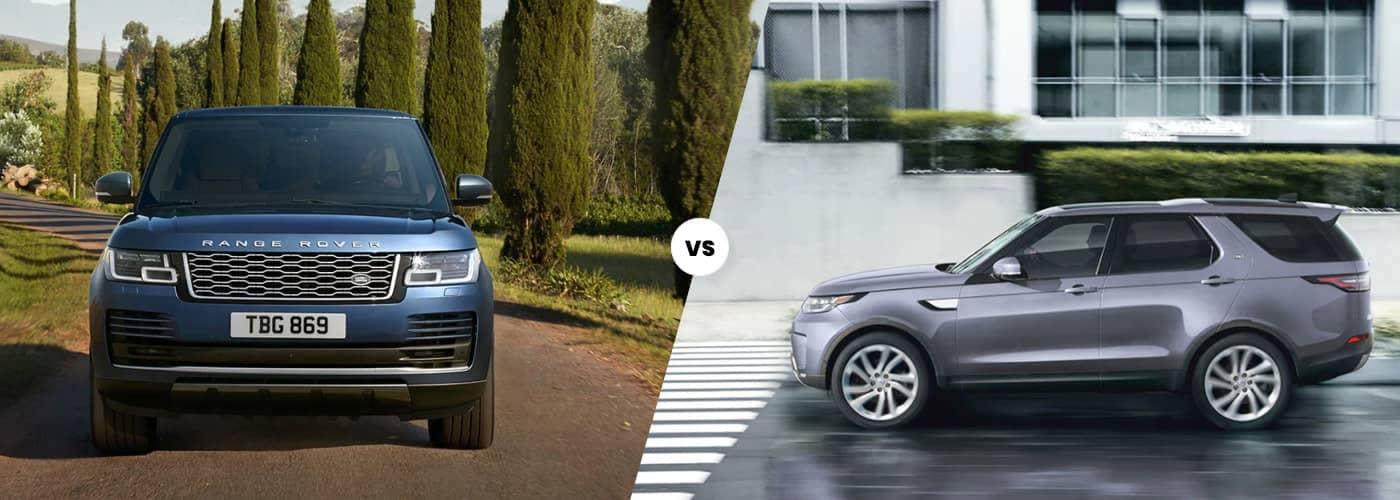 range rover vs land rover
