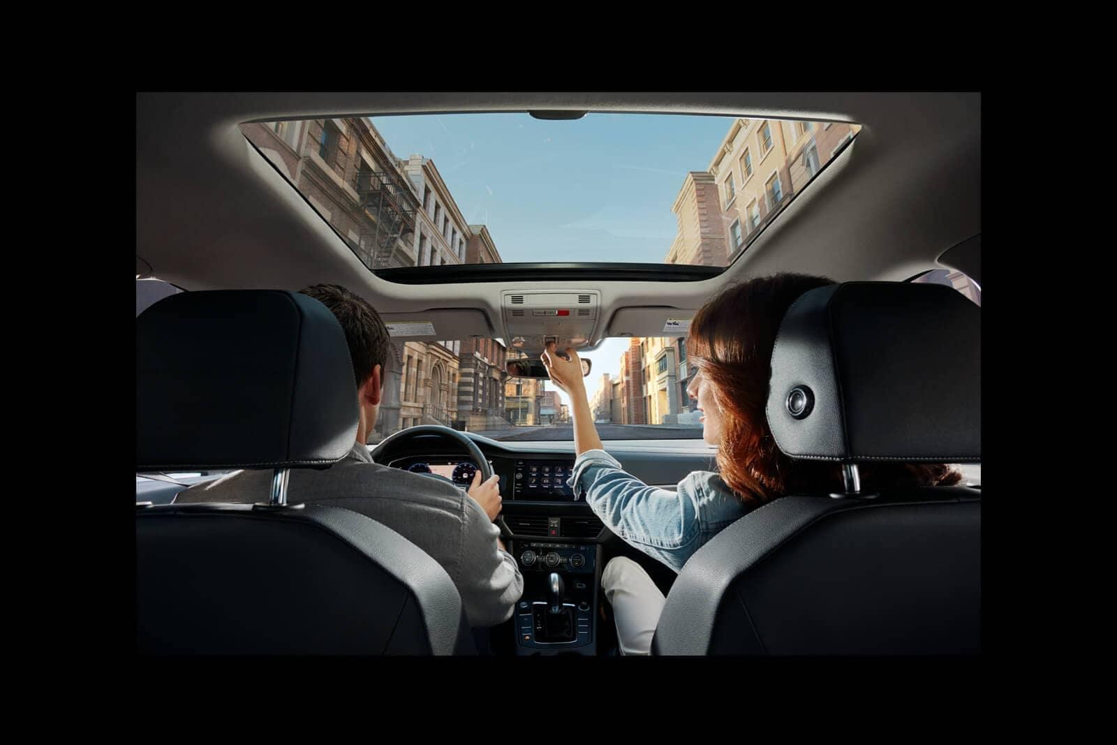 View inside 2019 Volkswagen Jetta interior