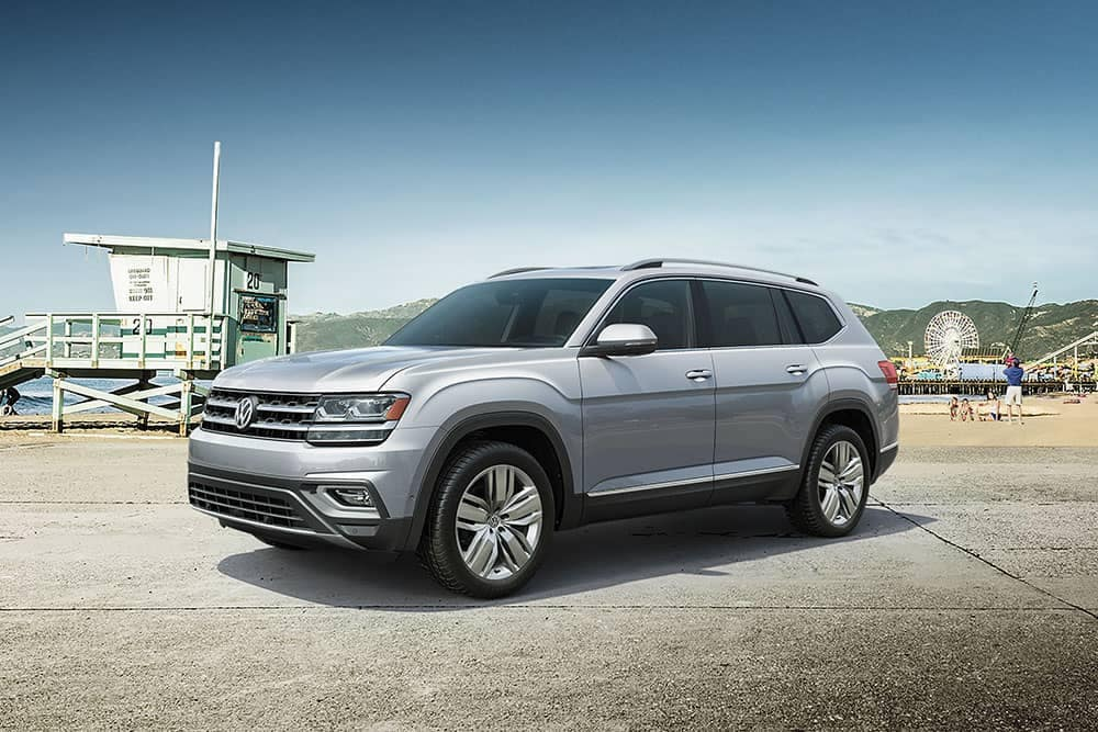2019 Volkswagen Atlas on the go