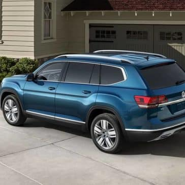 2019 Volkswagen Atlas rear view