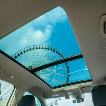 2019 Volkswagen Atlas sunroof at the fairgrounds