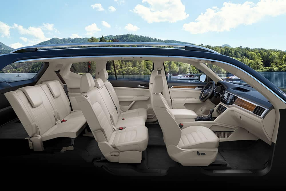 2019 Volkswagen Atlas interior seat