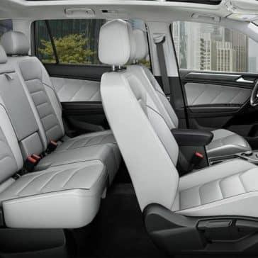 2019 Volkswagen Tiguan seating