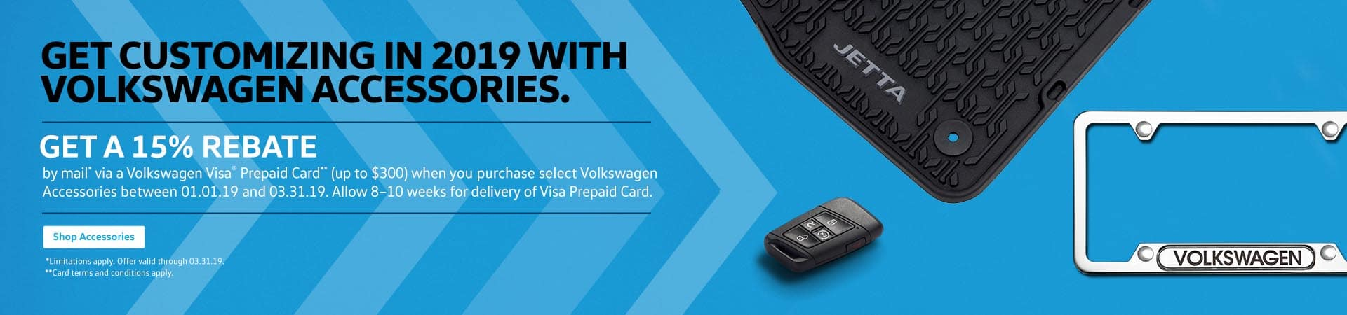 VW accessories discount