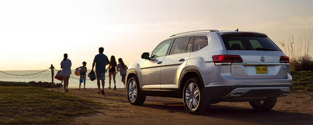 volkswagen atlas towing capacity  row vw atlas suv