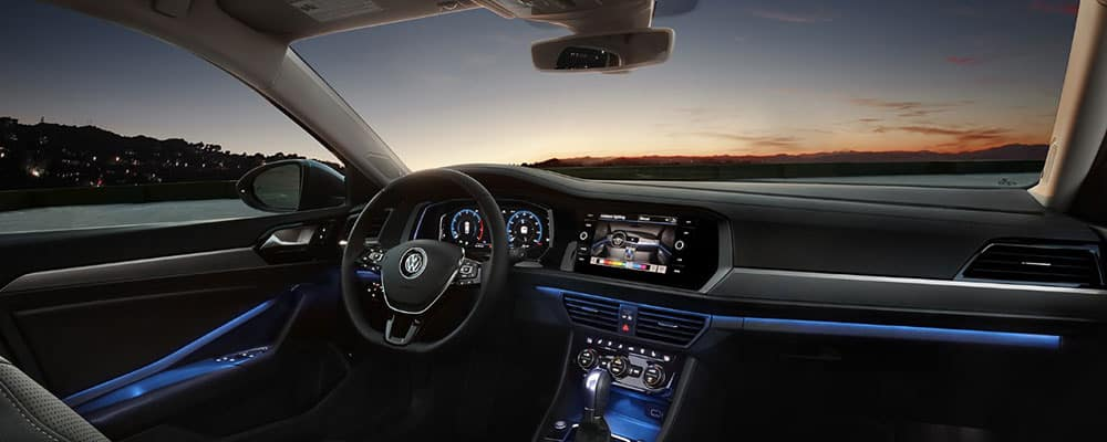 2019 Volkswagen Jetta interior dashboard lights