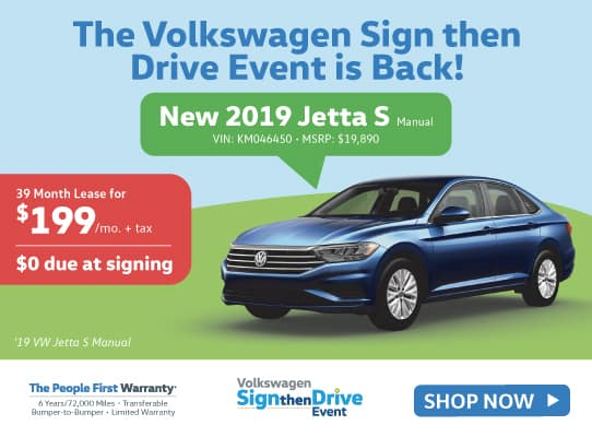 VW Sign then Drive Event is Back!