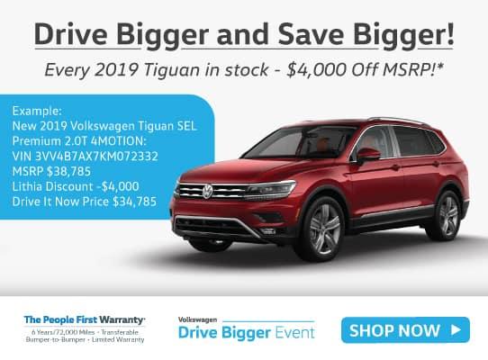 New 2019 Volkswagen Tiguan 2.0T SEL Premium 4MOTION AWD