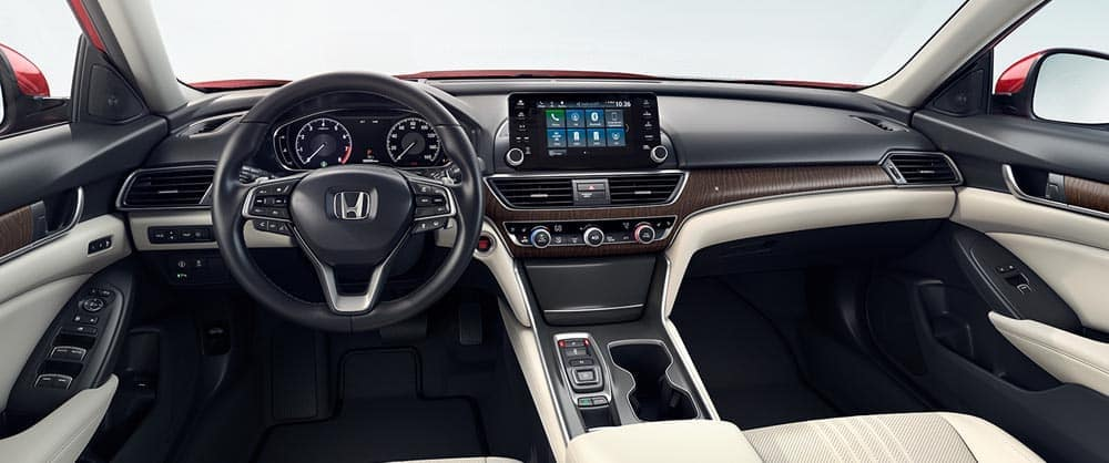 2018 Honda Accord Touring Front Interior View