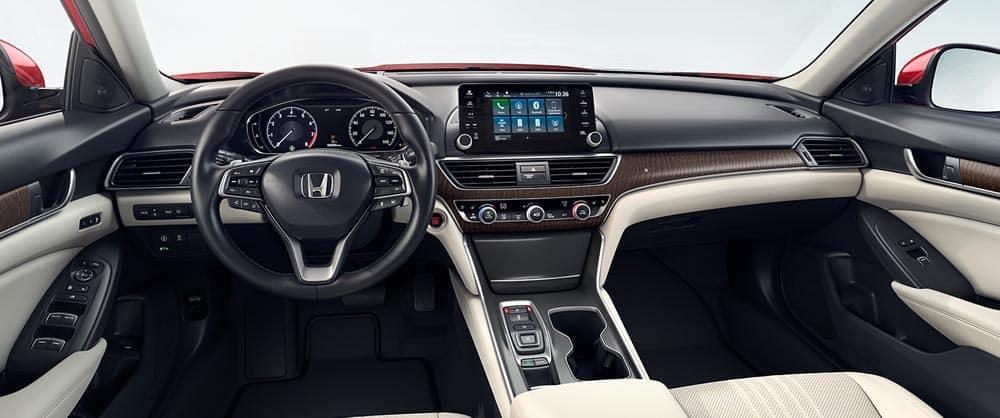2018 Honda Accord Touring Front Interior View