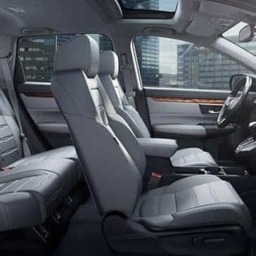 2018 Honda CR-V interior seating