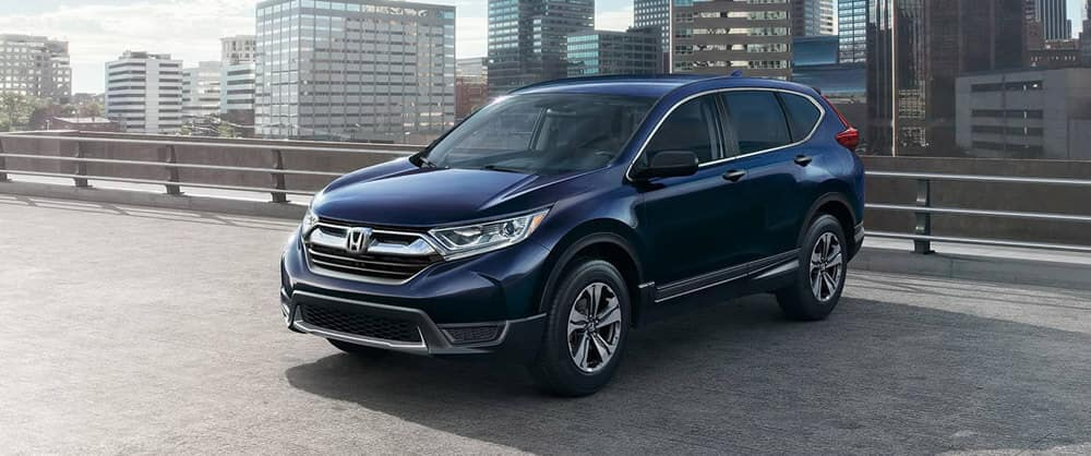 2018 Honda CR-V blue