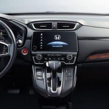 2018 Honda CR-V dashboard