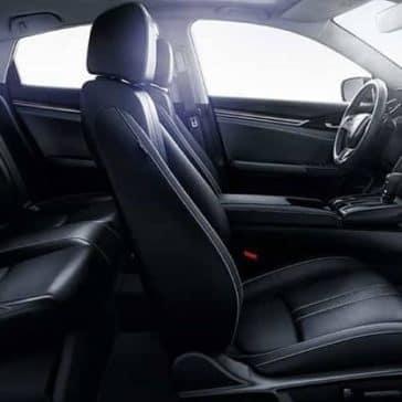 2019 Honda Civic Sedan leather seating