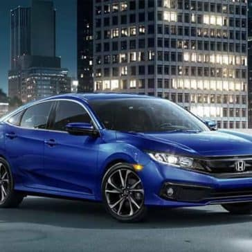 2019 Honda Civic Sedan main view