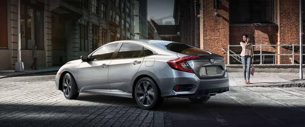 2019 Honda Civic Sedan sport rear