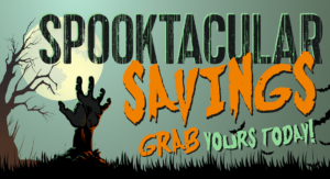 Spooktacular Savings