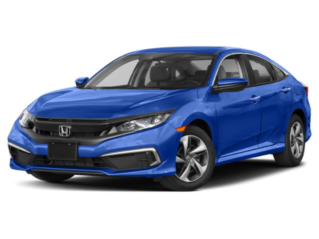 2019 Honda Civic LX in blue