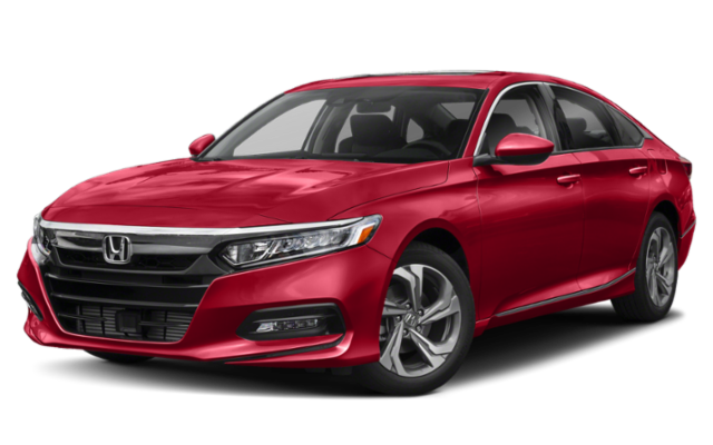2019 Honda Accord EX in red