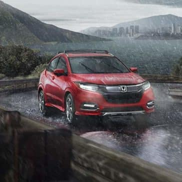 2019 Honda HR-V In The Rain