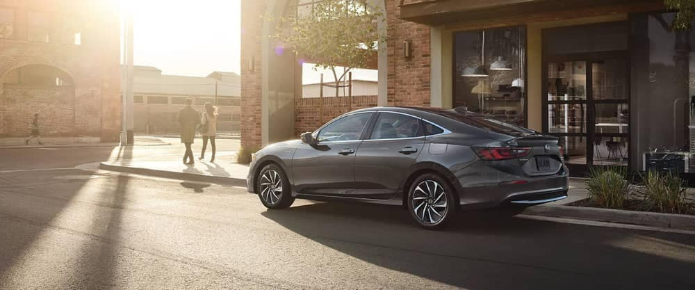 2020 Honda Insight Parked