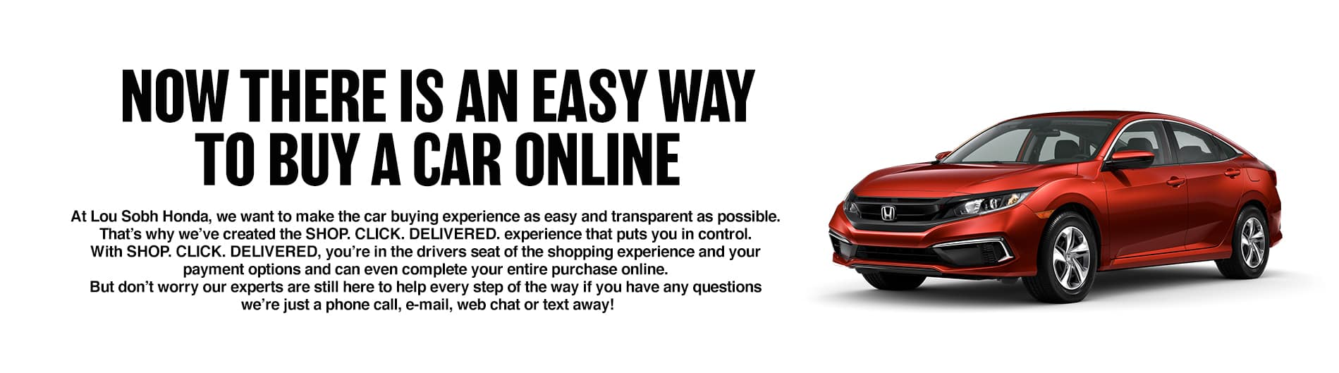 Now there is an easy way to buy a car online
