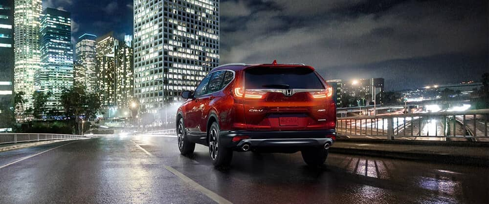 2018 Honda CR-V at night