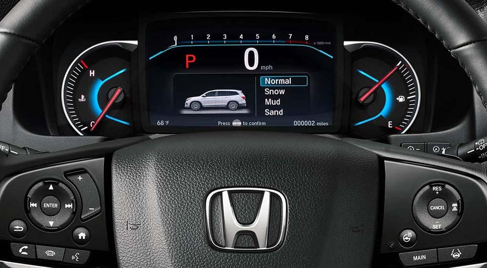 2019 Honda Pilot driver interface