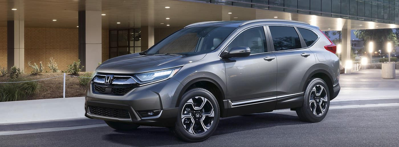2019 Honda CR-V in silver