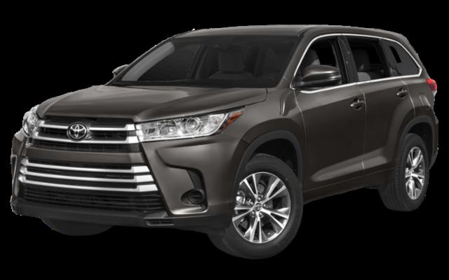 2019 Toyota Highlander LE AWD gray