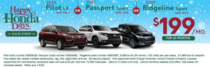 honda-of-the-avenues-december-specials-Pilot-Passport-Ridgeline