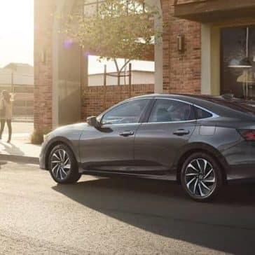 2020 Honda Insight Parked