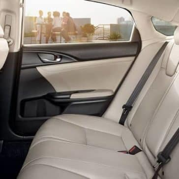 2020 Honda Insight Back Seat