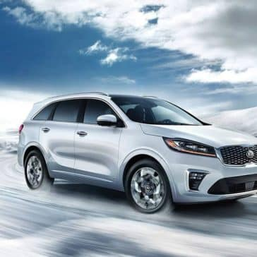 2019 Kia Sorento AWD winter