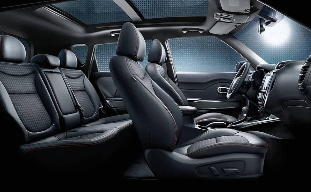 2019 Kia Soul interior sunroof