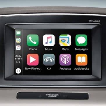 2019 Kia Sportage interior apps