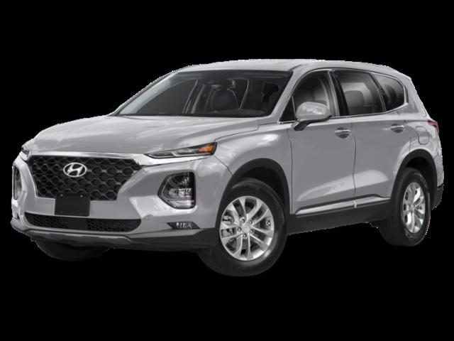 2019 Hyundai Santa Fe in gray
