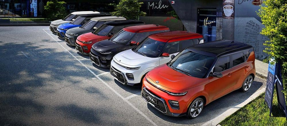 2020 Kia Soul colors and configurations