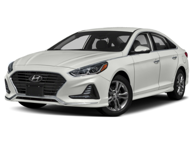 2019 Hyundai Sonata in light gray