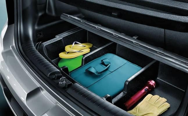 2019 Kia Interior rear luggage cargo