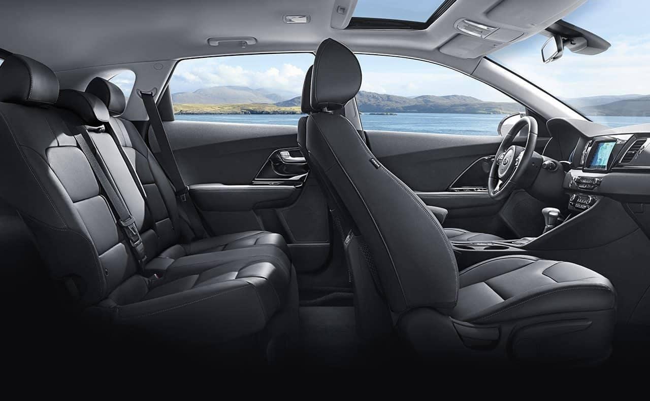 2019-Kia-Niro-leather-seating