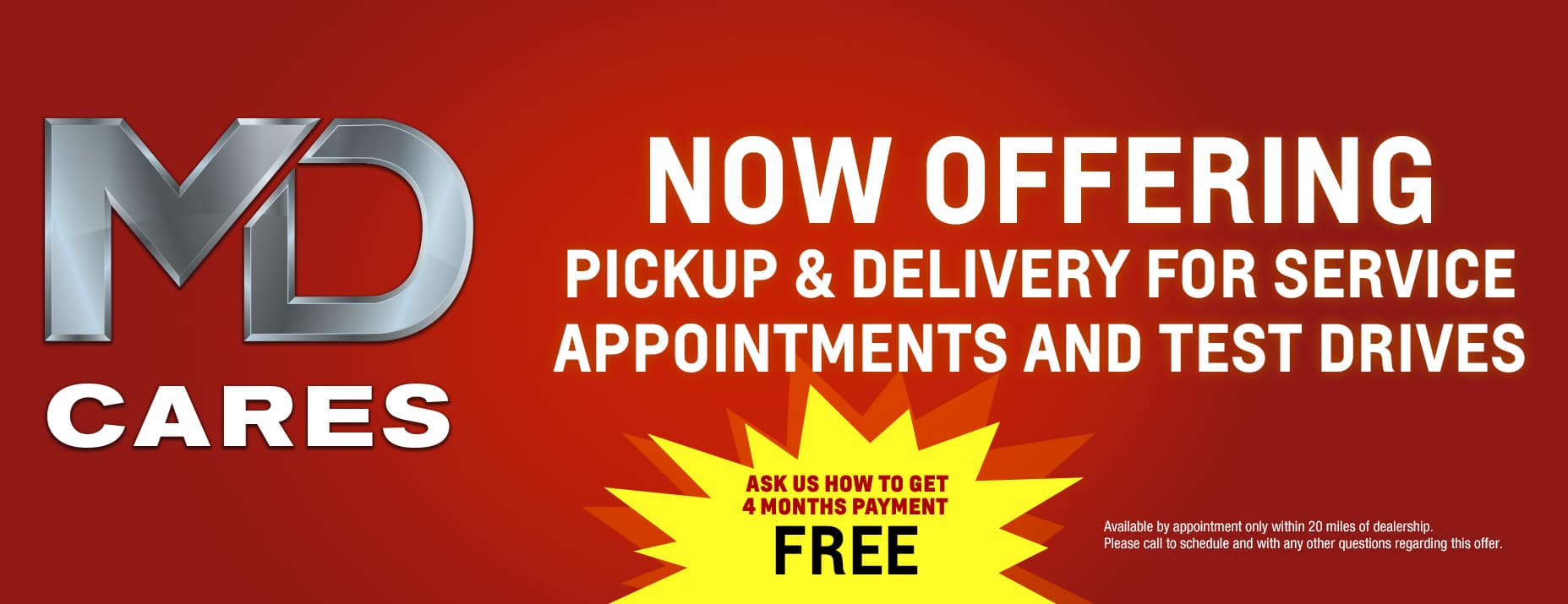 Contact Free Pickup/ Delivery